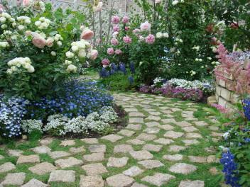 フランソワーズ・モレシャンさんの庭