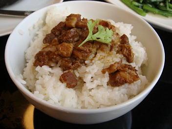 豚バラかけごはん(小)(台湾伝統名物)
