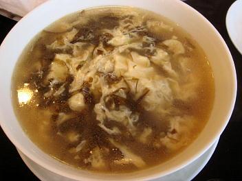 台湾のり玉子スープ