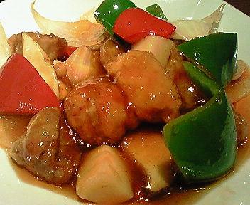 香酥古老肉(スブタ)