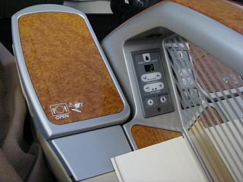 シート右側の操作ボタン、プライベートパティション