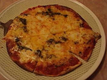 極薄手作りクリスピーピザ