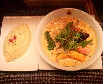 糸島豚とお野菜のココナッツカリー