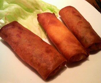豚肉と野菜春巻