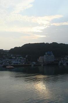 朝の風景(呼子・清力旅館から)