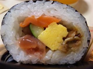 海鮮丸かぶり寿司
