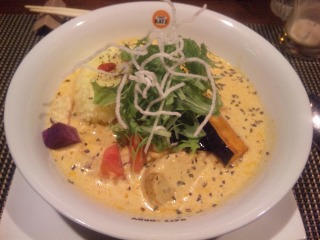 小さなお野菜のスープカリー