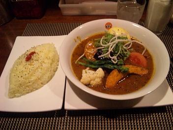 お野菜のスープカリー