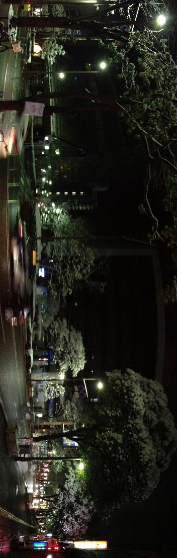 大名の雪景色(クリックすると大きな写真が表示されます(約1MB)