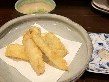 天ぷら(山うど)