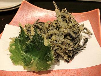 ひじきの天ぷら