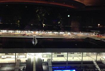 ジェットストリームからの夜景