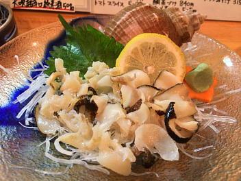 コウ貝刺身