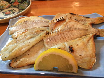 干し魚盛合せ