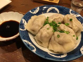 鶏肉水餃(鶏肉と淡竹の水餃子)