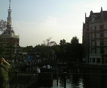 夕方の風景(ホテルヨーロッパ付近)