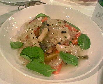唐津沖サバのマリネ+根野菜