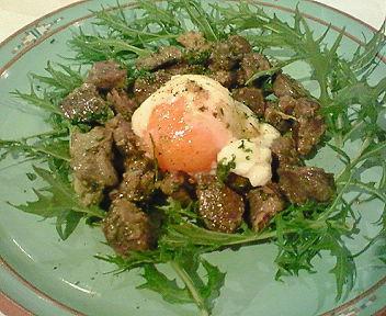 糸島可也鶏砂肝コンフィ+卵12分